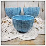 Cabled Sweater bowl (small)