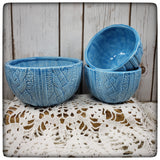 Cabled Sweater bowl (large)