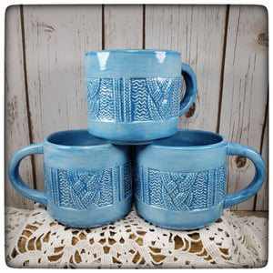 Cabled Sweater mug (jumbo)