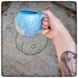 Cabled Sweater mug