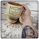 """She is too fond of books"" Mug"