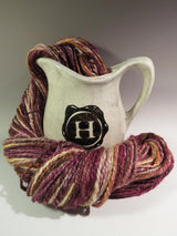Handspun yarn - Wool/Silk blend
