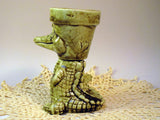 Alligator planter (small)