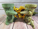 Alligator planter (extra small)