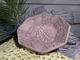 Crocheted Doily Dish (Marie style; small octagonal)