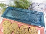 Crocheted Doily Tray (Marie style; wide)