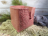 Crocheted Doily Yarn bowl (Marie style)