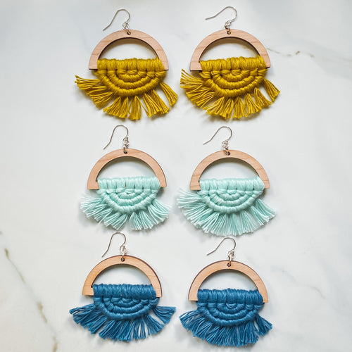 MACRAME ALL DAY - What's Up? (4 colors)