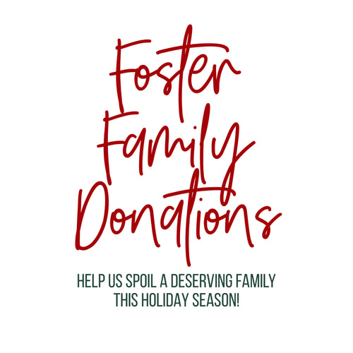 Donation for Foster Family Holiday Box