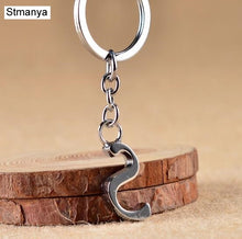 Load image into Gallery viewer, A-Z Key Chain Silver Jewelry