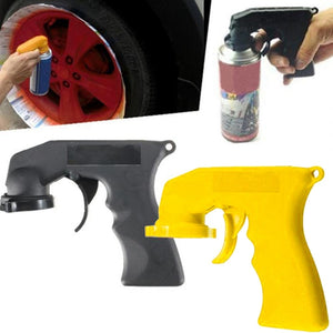 Portable handle spray gun Attachment for Can