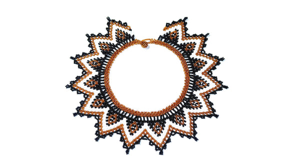 Handbeaded Native Necklace - 22 days