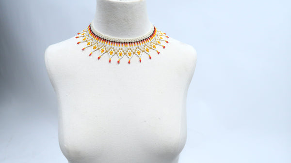 Handbeaded Shine Necklace - 11 days