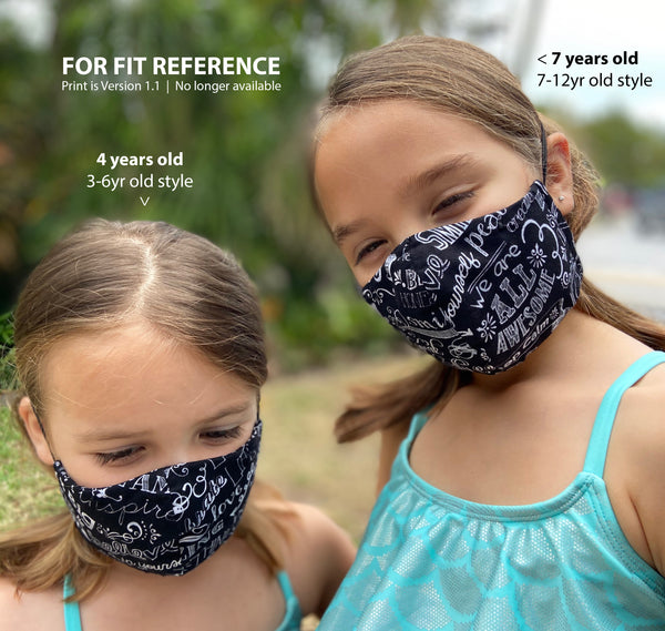 REVERSIBLE 2 in 1 - PROTECT Face Mask
