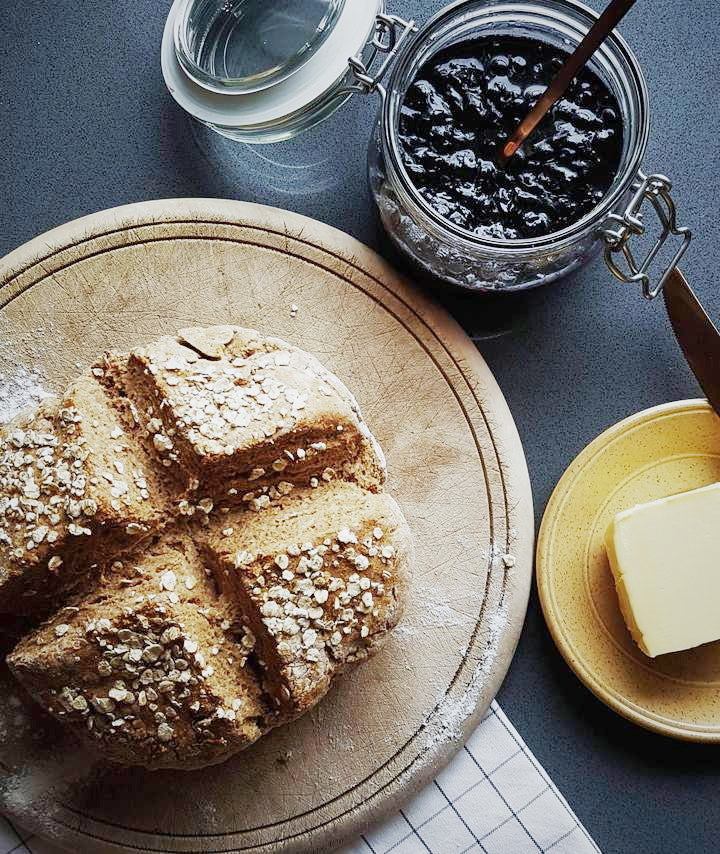 irish-soda-bread-blackcurrant-jam