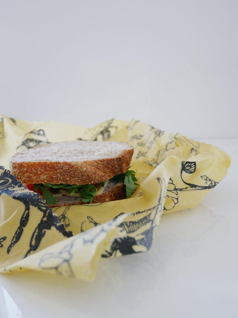 Our New Beeswax Wraps Lunch Pack
