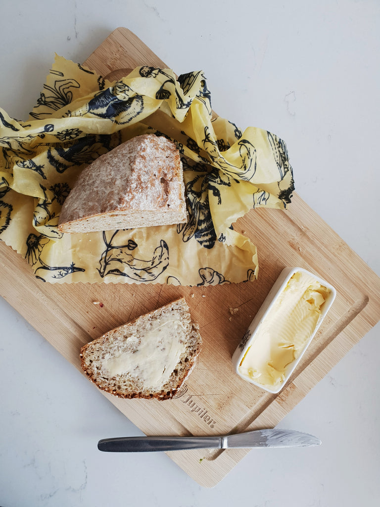 Bundle I:  7 Beeswax Wraps (2 Variety & 1 Bread)