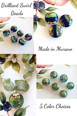 Our Best Seller Venetian Beads Made in Murano