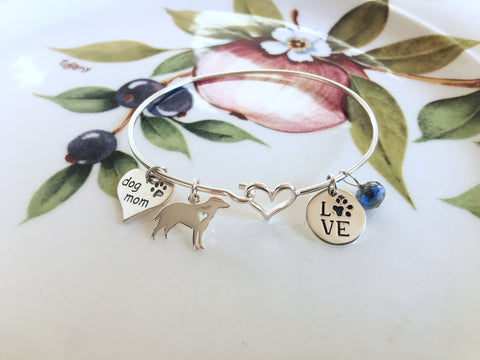 Dog Lovers Charm Bracelet