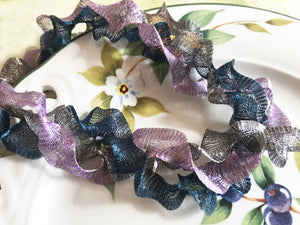 Titanium Mesh Ribbon, Light Purple, 1 Meter Length