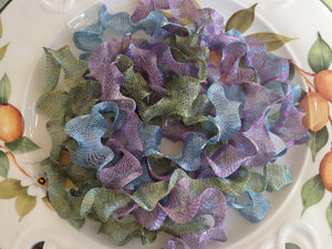 Titanium Mesh Ribbon, Wild Flower Beauty Assortment, Five 1 Meter pieces at a Discounted Price - Specialty Beads