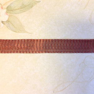 Titanium Mesh Necklace, Chestnut