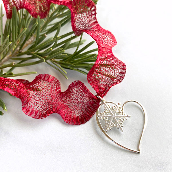 Snowflake Love Necklace