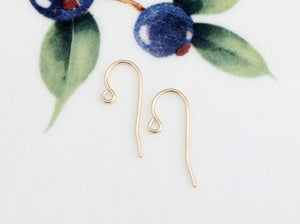 Gold Filled Loop Ear Wires, Package of 5 Pairs - Specialty Beads