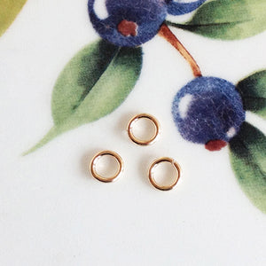 "Gold Filled ""Super"" Jump Rings, Package of 20 - Specialty Beads"
