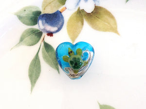 Turtle Handmade Heart Bead - Specialty Beads