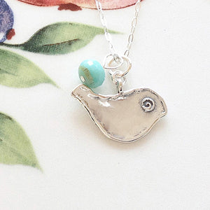 My Favorite Bird Necklace - Specialty Beads