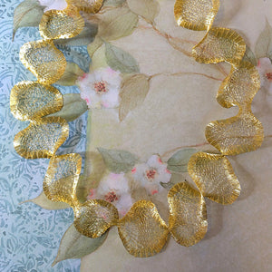 Titanium Mesh Necklace, Shimmering Gold - Specialty Beads