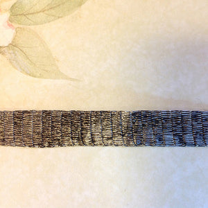 Titanium Mesh Ribbon, Silver, 5 Meter Spools - Specialty Beads