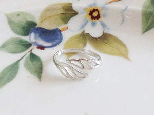 Silver Wing Ring - Specialty Beads