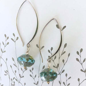 Sterling Silver Angelina Earrings
