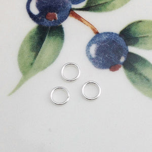 "Sterling Silver ""Super"" Jump Rings, Package of 20"