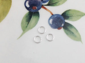 "Sterling Silver ""Super"" Jump Rings, Package of 20 - Specialty Beads"