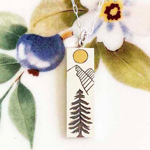 Sunlit Mountain Necklace