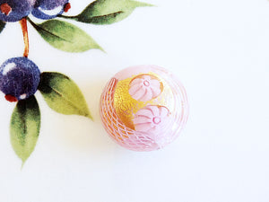 Millefiori Lace Italian Disc Bead, Pink, 20mm - Specialty Beads