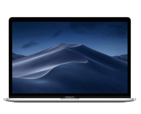 "Apple MR962LL/A 15.4"" MacBook Pro Laptop (Retina, Touch Bar, 2.2GHz 6-Core Intel Core i7, 16GB RAM, 256GB SSD Storage) Silver (2018 Model)"