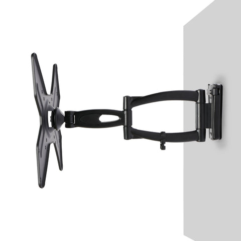 V7 WCL2DA55-2N Low Profile 10 to 32 Inches Articulating Wall Mount for TV
