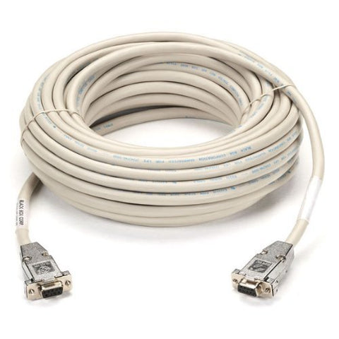 DB9 Serial Null-Modem Cable, DB9 Female/DB9 Female, 10-ft. (3.0-m)
