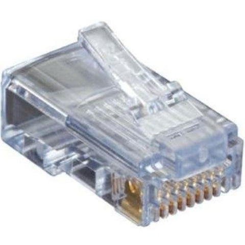 Black Box CAT5e EZ-RJ45 Modular Plug, 50-Pack - C5EEZUP-50PAK