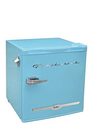 Frigidaire 1.6 Cu Ft Retro Compact Fridge with Side Bottle Opener - Blue