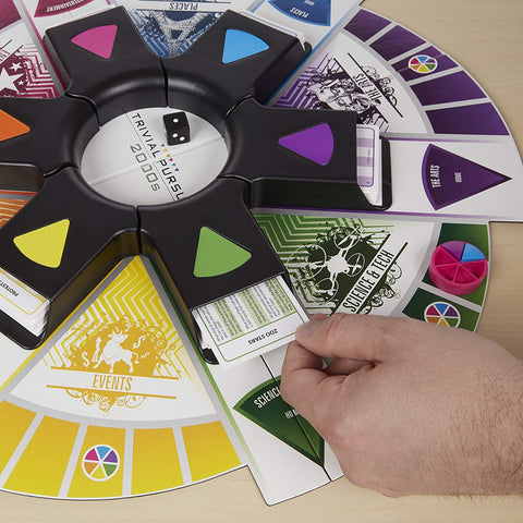 Trivial Pursuit 2000S Board Game, French