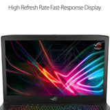 "ASUS ROG Strix Scar Edition 17.3"" Gaming Laptop, 8th-Gen 6-Core Intel Core i7-8750H Processor (up to 3.9GHz), GTX 1060 6GB, 120Hz 3ms Display, 16GB DDR4, 256GB PCIe SSD + 1TB SSHD"