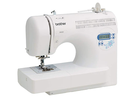 Brother XR6060 Computerized Sewing Machine with 1 Step Buttonholes and Thread Cutter