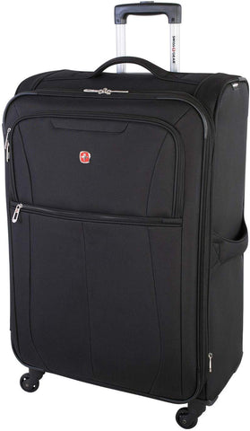 Swiss Gear Classic 3-Piece Soft Side Expandable Luggage Set - Black, Black, One Size