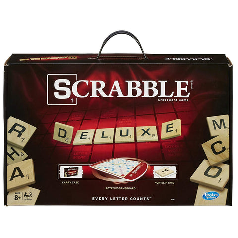 Scrabble Deluxe Edition Game, English