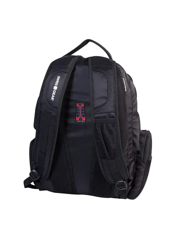 Swiss Gear 15.6-Inch Laptop Bag with Multi Pockets, Black, Under Seat